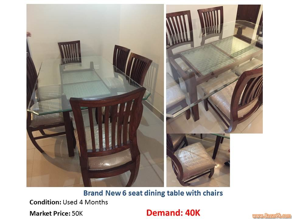 New Dining Table Household Furniture Bazar Pakistan