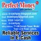 Perfectmoney,webmoney,ego Pay In Pakistan.