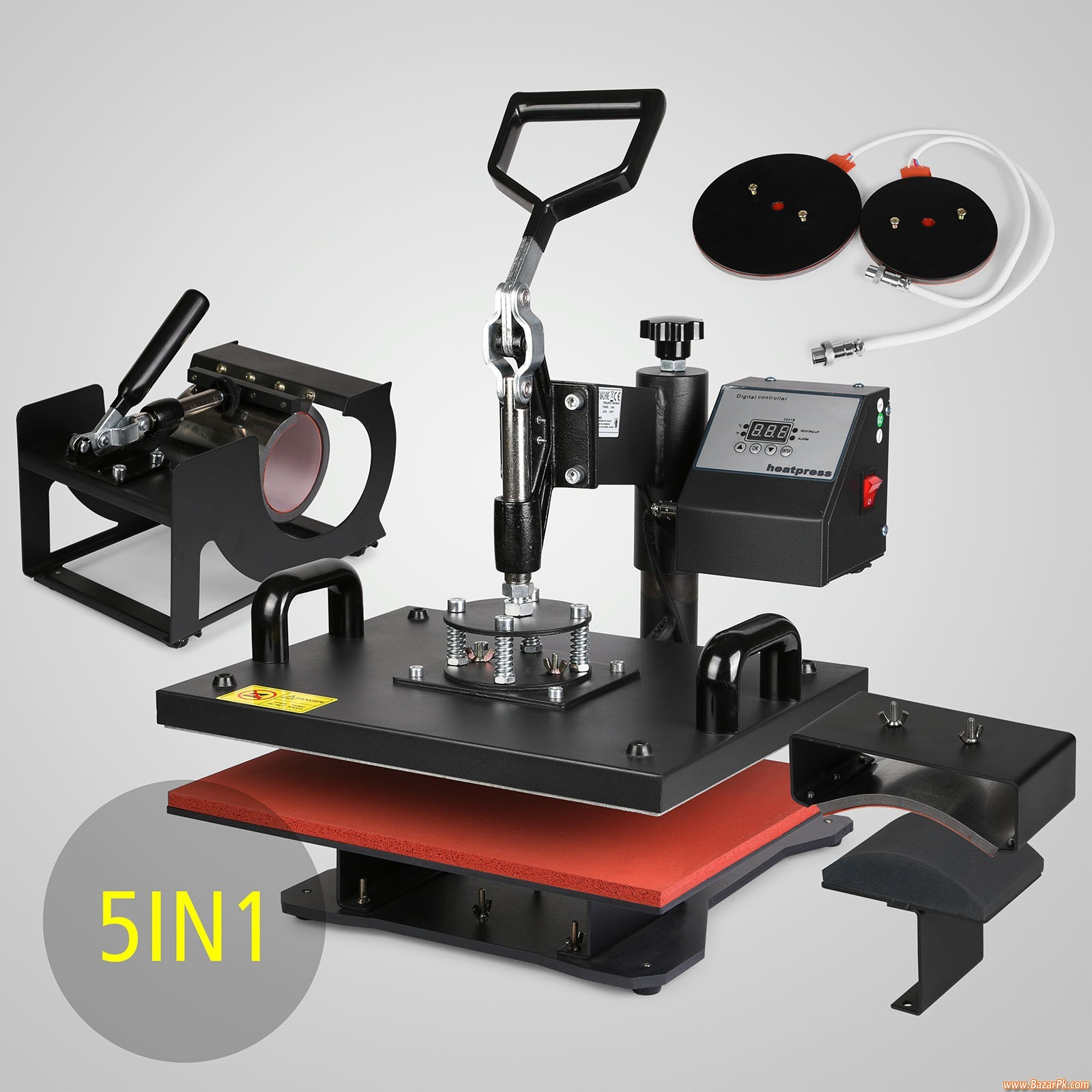 5 In 1 Heat Press Sublimation Machine - Business and Professional